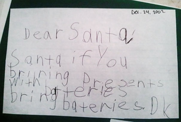 Hilarious Christmas Letters.These Letters To Santa Prove That Kids Really Are Next Level